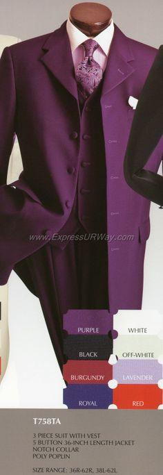 Vittorio St. Angelo T758TA Mens Suit