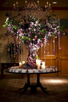 Enchanted forest decorations for wedding ideas 60 - Savvy Ways About Things Can Teach Us Mod Wedding, Purple Wedding, Wedding Table, Wedding Cards, Wedding Flowers, Dream Wedding, Trendy Wedding, Reception Table, Wedding Blog