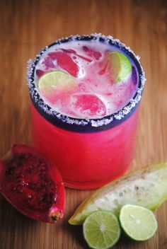 Prickly Pear Margarita Via Sweet Life