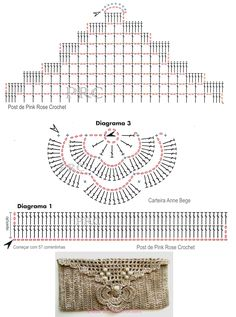 Carteira+Anne+Bege+Gráfico+Chart+Crochet+Clutch.PNG (Imagen PNG, 800 × 1076 píxeles) - Escalado (56 %)