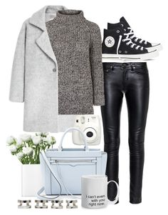"""Untitled #182"" by rachelallegra ❤ liked on Polyvore featuring Converse, MANGO, Yves Saint Laurent, LSA International, Topshop, Rebecca Minkoff, Maison Margiela, women's clothing, women and female"
