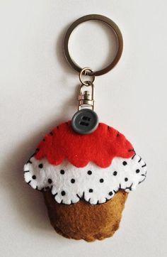 Brelok cupcake (proj. nawia)