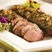 Oven-Roasted Herbs de Provence Pork Loin by Laetitia Meneley