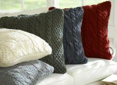cojines lana para el frio