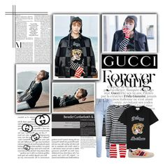 """""""Taehyung_Gucci"""" by jina-7 ❤ liked on Polyvore featuring Gucci and Frame"""