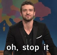 Bravo JT, keep on surprising us. (gif)| 12 Ways Justin Timberlake Continues To Surprise Us