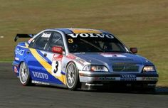 Jim Richards running the S40 during the 1999 season. Seen here at Oran Park