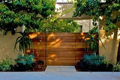 Modern Gate  Gates and Fencing  Fiore Design  North Hollywood, CA