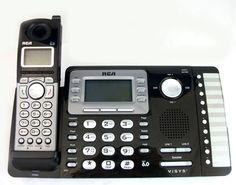 RCA-25212 2-Line Dect 6.0 Cordless Expandable Phone #RCA