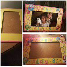 Shopkins Birthday Photo Board