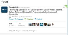 Serie Samsung Galaxy: ecco quando arriverà Android Jelly Bean ufficiale | Chimera Revo