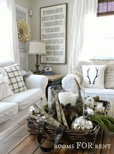 home decor winter
