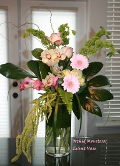 Floral Event vase - weddings