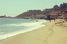 Malibu beach, Road trip, Highway 1, California