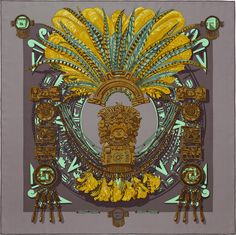Carré 90 x 90 cm Hermès | Mexique