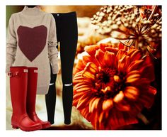 """""""Fall is here"""" by carenza-spence on Polyvore featuring Miss Selfridge, Vivienne Westwood Anglomania and Hunter"""