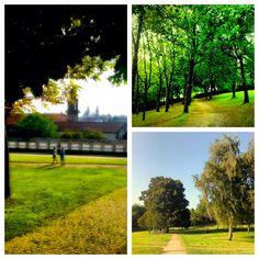 The Bonaval park is the most important public space in Santiago de Compostela
