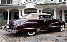 1947 Cadillac Series 62 Convertible Classic Motors, Classic Cars, Vintage Cars, Antique Cars, Cadillac Series 62, Convertible, Old Trucks, My Ride, Hot Cars