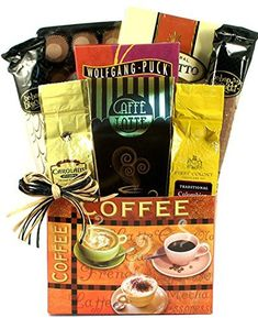 Gift Basket for Coffee Lovers - Size Medium
