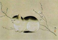 Cat --Hishida Shunso