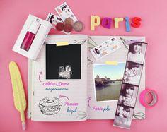 Paris, mon carnet de voyage | Poulette Magique