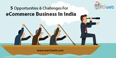 Opportunities and challenges for #eCommercebusiness in India
