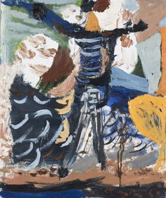 Self Portrait with Two Heads - James Drinkwater - Nanda\Hobbs Contemporary} Abstract Painters, Abstract Landscape, Abstract Art, National Art School, Australian Painting, Sleeping Women, Floating Flowers, Henri Matisse, Mixed Media Canvas