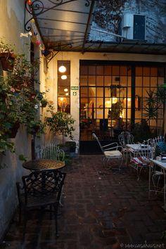 Lovely vintage patio. Malvon: Un lugar con mucho encanto - Casa Haus - Decoración