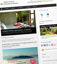 ¡Ya tenemos listo el blog de nuestro hotel! En él iremos subiendo actividades, recetas, escapadas... toda la información para que podáis disfrutar de vuestra escapada en Asturias.    Link al blog del hotel El Mirador de Ordiales:  http://www.elmiradordeordiales.com/blog/