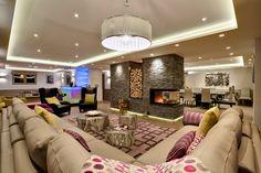 Chalet Pont du Cam living room