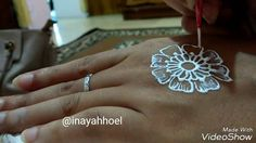 Henna Simple design | how to make henna on hands with simple designs by ...