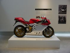 1998 MV Agusta F4 750 Serie Oro. The most beautiful sportbike ever made? Definitely in the Top 5. (916, RC30, RC45, R7 and F4)