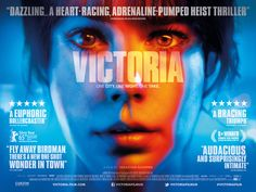 #SebastianSchipper's Berlin Silver Bear winning ambitious, authentic one-take sensation #VictoriaFilm is out in cinemas & on demand from 1 April. http://www.Victoria-Film.com #LaiaCosta #FrederickLau #filmposter