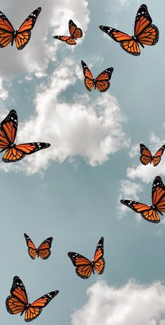 Butterfly Wallpaper Iphone, Iphone Wallpaper Vsco, Iphone Wallpaper Tumblr Aesthetic, Cartoon Wallpaper Iphone, Homescreen Wallpaper, Iphone Background Wallpaper, Aesthetic Wallpapers, Wallpaper Iphone Vintage, Cute Iphone Wallpaper Tumblr