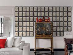 É possível fazer vários tiposd e arranjos de quadros na parede. Embora não exista regras fixas, nesta reportagem você tem algumas dicas para ter um conjunto harmônico
