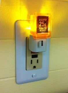 25 Cent Pinball Arcade Video Game LED Night Light on Etsy, $25.00