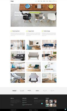 Create a gorgeous website for your interior design business easily with Cozy WordPress theme! Interior Design Themes, Interior Design Business, Layout Design, Web Design, Creative Portfolio, Wordpress Theme, Cozy, Website, Studio