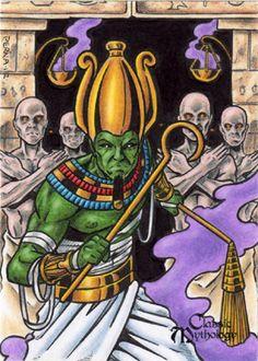 Osiris Sketch Card - Tony Perna by Pernastudios on DeviantArt