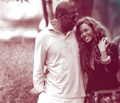 Slightly in love with this couple. Beyonce and Jay-z.