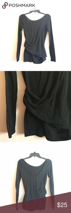 Rachel Roy Long Sleeve Top Beautiful long sleeve top by Rachel Roy! Low back and scrunched on the side. In great condition! Size Small. RACHEL Rachel Roy Tops