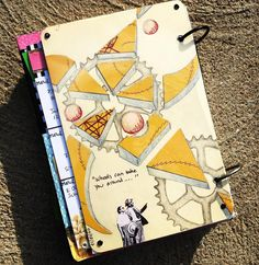 Art Journal entry 04-18-17