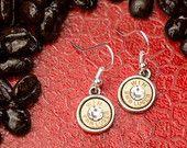 Bullet Jewelry - Gumdrop Bullet Earrings (9mm) (Nickel Free)
