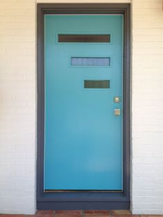 Mad for Mid-Century: Our Mid-Century Modern Door