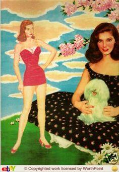 1955 Pier Angeli paper doll / eBay
