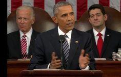 Presidente Obama pronuncia su ultimo discurso sobre estado de la Union; enfoca cuatro puntos esenciales