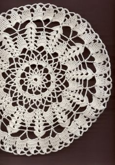 Crochet doily lace doilies table decoration by DoilyWorld on Etsy, £4.00