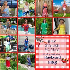 Bbq Outfits, Stylish Outfits, Fashion Over Fifty, Fifties Fashion, Backyard Bbq, Photos Of Women, International Fashion, Fashion Photo, Summer Fun