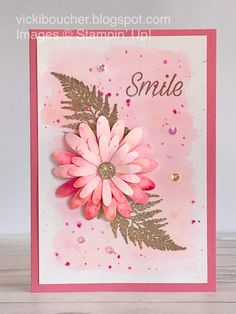 Vicki Boucher Stampin' Up! Demonstrator Australia: Stampin' Up!, Vicki Boucher Stampin' Up! Demonstrator Australia: Stampin' Up! Pigment Sprinkles and Daisy Lane Bundle Vicki Boucher Stampin' Up! Stampin Up, Making Greeting Cards, Greeting Cards Handmade, Making Cards, Happpy Birthday, Sprinkles, Fun Fold Cards, Stamping Up Cards, Handmade Birthday Cards