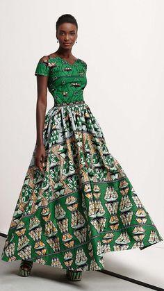 Lindo vestido africano