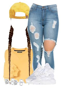 """Untitled #1298"" by kiaratee ❤ liked on Polyvore featuring NIKE, Auriya, women's clothing, women's fashion, women, female, woman, misses and juniors"